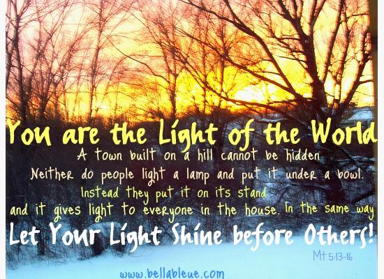 Let Your Light Shine Bella Bleue Healing