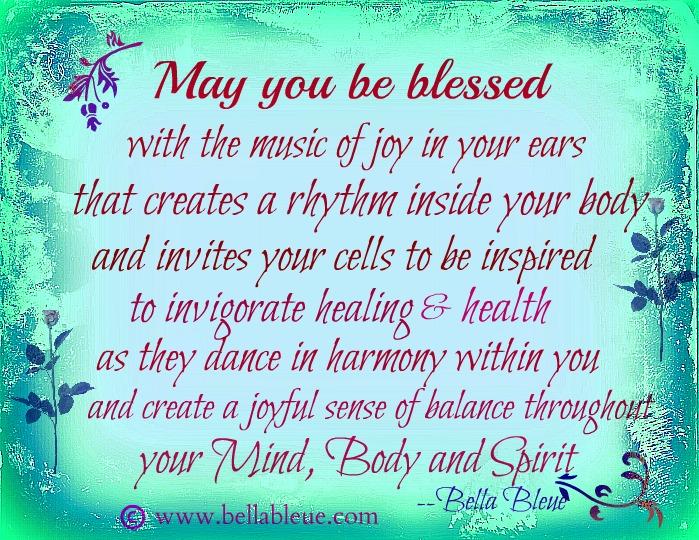 blessing your mind body spirit bella bleue healing