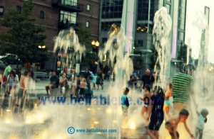City Fountains Bella Bleue