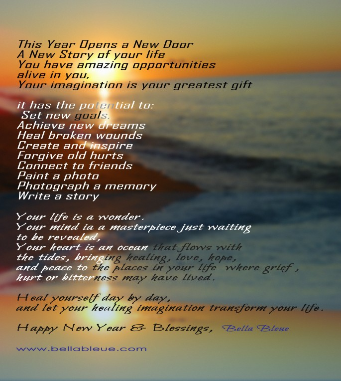 New Year's Blessing – Bella Bleue Healing™