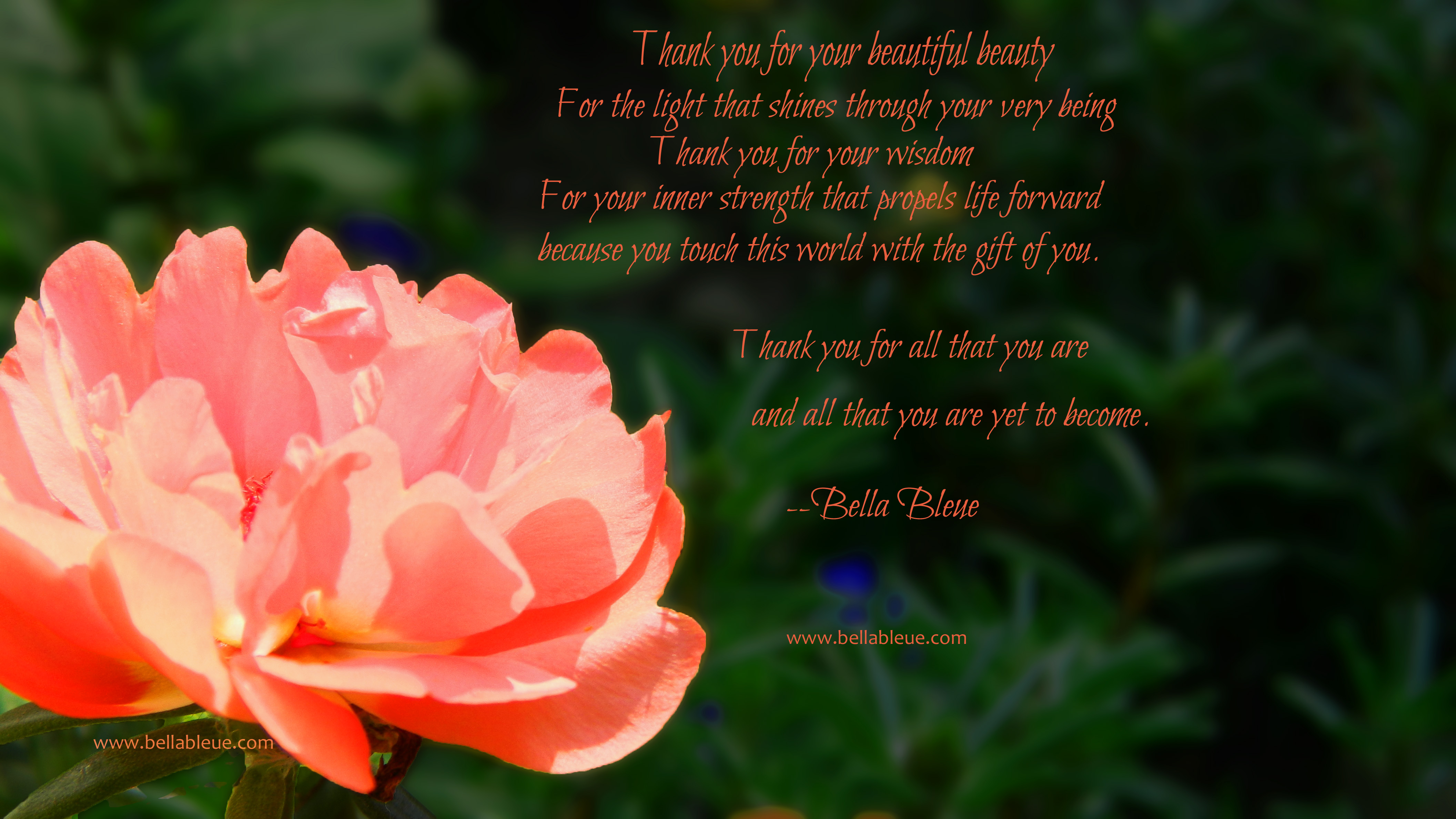 Beauty Poem by Bella Bleue