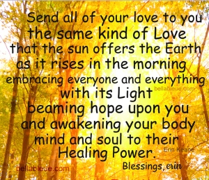 Blessing of Healing for Yourself