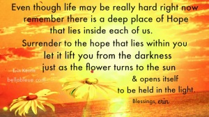 Hope Quote for Social Isolation